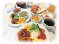 お手頃:ご夕食≪ルームサービス≫&ご朝食バイキング付きスプリング・プラン