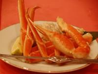【グレードUP】カニ好き必見!旨味凝縮!食べ応え抜群!「浜ゆでズワイガニ付」洋食フルコース