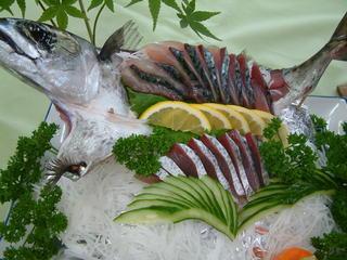 青岬おまかせ 活魚清水鯖お刺身プラン