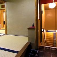 【深山荘】昭和31年竣工のお部屋(2階建て構造)内湯付