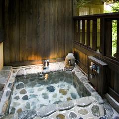 【ぎふ旅プレミアム】「源泉掛け流しの専用露天風呂付き客室」 プライベートな時間を楽しむお部屋