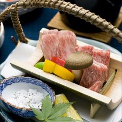 【1日3組限定】特別会席を味わうプラン。A5飛騨牛ステーキもお楽しみいただけます。