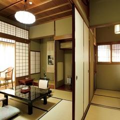 特別室「山楽荘」茶室を備えた落ち着きのある離れのお部屋