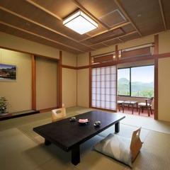 【禁煙】自慢の庭園を眺めるリニューアル和室(10畳)