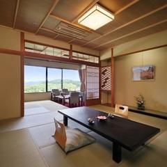【禁煙】緑水亭ならではの眺め!リニューアルゆったり和室