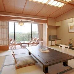 自慢の庭園を眺める♪和洋室(10畳+ツインベッドルーム)