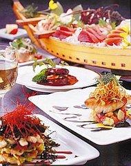 一番人気♪【伊勢海老2本入り!!】珍しい地魚深海魚大舟盛りを標準ディナーにプラス♪オススメです♪