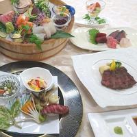 【常陸牛プラン】茨城の旬菜と常陸牛を堪能するディナー☆大浴場&駐車場無料