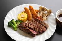 【選べるグルメプラン・ステーキ付】両神荘人気夕食に「深谷牛ステーキ」付
