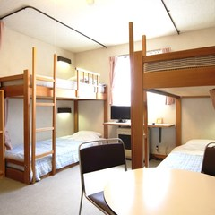 2段ベット 4人部屋
