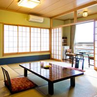 和室12〜15畳/プラズマクラスター空気清浄機Wi-Fi完備