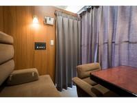 男女混合ドミトリーA個室(1名用半個室)