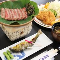 """【1泊2食】グレードアップ """"A5ランク""""飛騨牛ステーキ付プラン"""