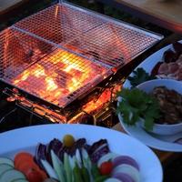 ◆【グランピング&BBQ】1日1組・岩見沢の森で非日常体験!ワンランク上の贅沢な時間<2食付>