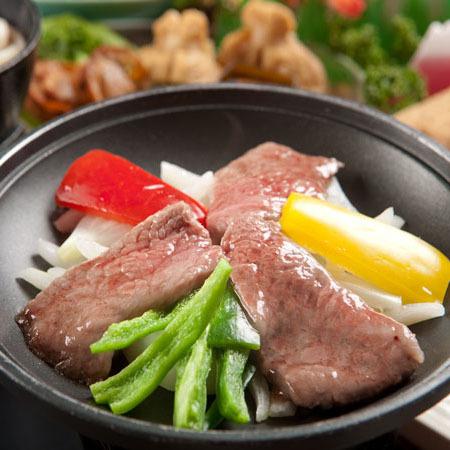 【お部屋食】当館人気!選べる陶板焼&皿鉢料理&鰹のたたき