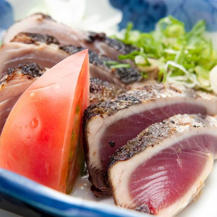 【レストラン食事プラン】気軽に楽しむ♪皿鉢料理とカツオのたたきプラン