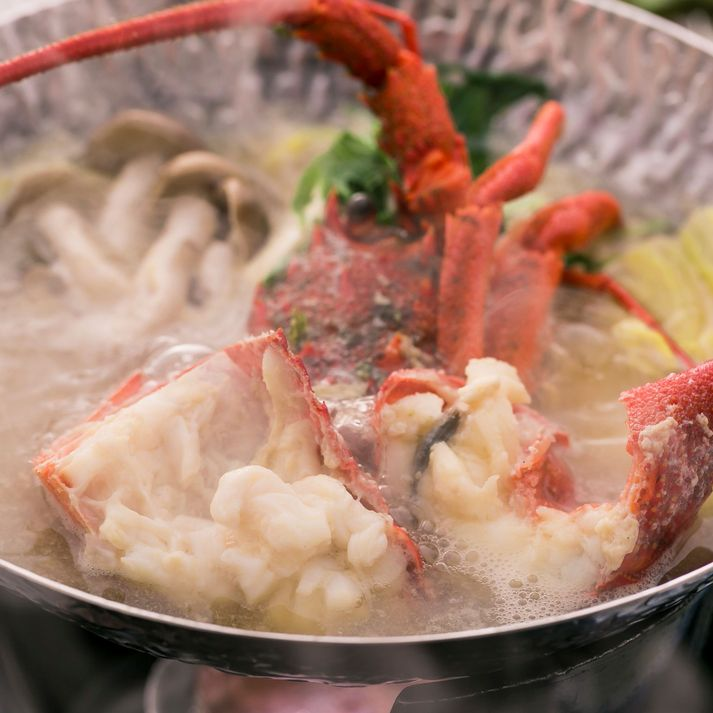 選べる小鍋 伊勢海老味噌仕立てOR金目鯛のゆずみぞれに土佐和牛陶板と鰹のたたき付き皿鉢料理プラン