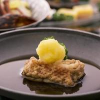 《金目鯛ゆず陶板&四万十豚せいろ蒸し&鰹のたたき》皿鉢料理プラン