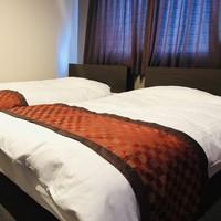 禁煙 客室上層階 ツインルーム/ベッド幅120×195cm)