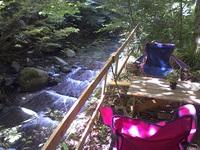 1棟貸しプラン、◆目の前に渓流、広葉樹の森で仲間と気ままに♪♪♪カラオケ歌い放題2~9名