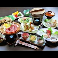 【グレードアップ】海鮮料理×知多牛ステーキ付★美味しさは太鼓判です! 【お食事は個室食】