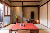 【朝食付き】プライベートお庭付き。1人旅、カップルにおすすめお部屋。町家を満喫
