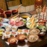 [現金特価]【スタンダード2食付】昔ながらの囲炉裏で会津の郷土料理体験!お夜食サービス付き♪