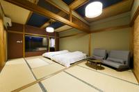 【最上階】源泉露天風呂付 和室ツイン