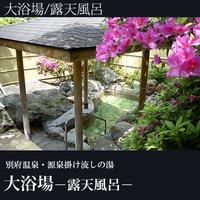 【貸し切り 庭園野天風呂 無料入浴付】  1泊朝食プラン