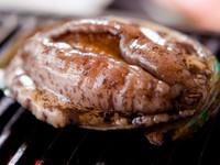 (イカ・アワビ)イカ活き造りと鮑はお好みでバター焼きかお刺身でプラン