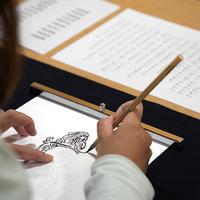 縁結びの仏さまをなぞり描く「写仏体験」《日帰り体験》
