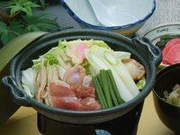 青森県が誇るブランド地鶏『青森シャモロック』温泉満喫2食付き♪