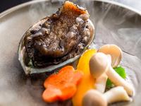平日限定☆彡カニ&アワビ&舟盛りの饗宴♪贅沢三昧フルコースは日本海の幸満載♪