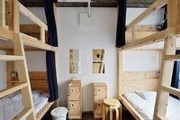 [グループ様向け]4ベッド貸し切り個室・トイレシャワー共用