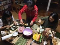 夕食料理体験プラン