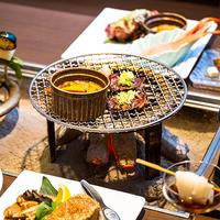 【夕食は贅沢に朝食は爽やかに】囲炉裏個室で特別会席プラン 朝・夕 2食付