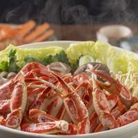 【冬限定!】蟹鍋が9800円〜!蟹出汁たっぷりでお野菜も美味しく食べれる♪ご家族・グループにお勧め