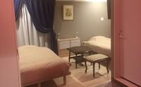 セミダブルベッドのツインルーム