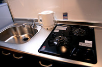 ☆2017年4月open!ツインルームで素泊まり♪Wifi無料♪キッチン、冷蔵庫完備完備♪全室禁煙