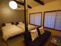 2階ツインベッドルーム(ソファベット付)