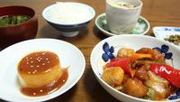 【2食付】お食事は自家製野菜・お米で手作り!日替わり定食で連泊にも最適★