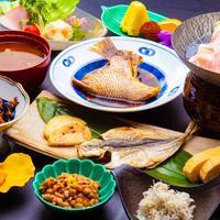 ◆伊勢湾に面した天然温泉の宿!料理長自慢の朝から御飯がススム和御膳★《朝食のみ》