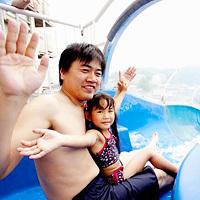 夏の家族旅行【夏休みファミリープラン】 お子様に大人気!150mウォータースライダー&プール利用無料