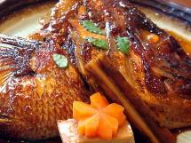 """【人気です!生中も半額!!】来島の潮流でもまれた""""絶品""""「鯛の荒焚き」付き夕食♪と選べる朝食プラン"""