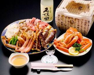 \\久保田 翠寿 【大吟醸生酒】&佐渡産ずわい蟹を満喫♪// 冬の当館一番人気!