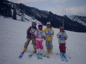 此の冬、スキーにボード満喫