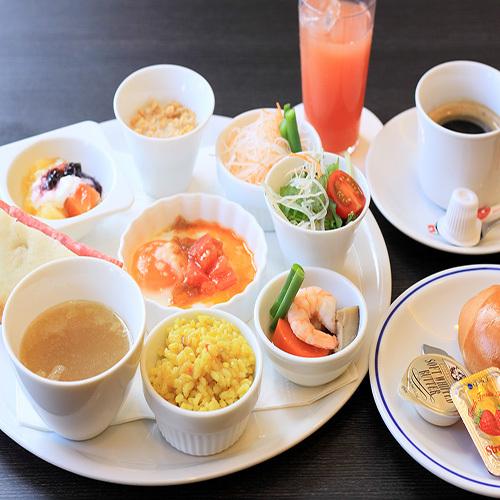 ☆期間限定プランです☆ユクエスタ自慢の朝食付きプラン(洋食)