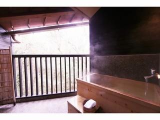 露天風呂付き和洋室(2階)【ツイン+京間6畳】