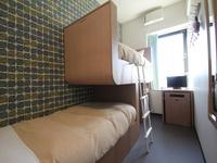 二段ベッド付 ツインルーム 共有バスルーム【素泊まり】