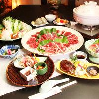 【ボタン鍋★ジビエ♪】新鮮だから食べられる★ジビエ料理「しし鍋」期間限定の旬の味覚を召上れ♪♪